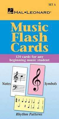 Link to an enlarged image of Music Flash Cards Set a (Hal Leonard Student Piano Library) (FLC CRDS)