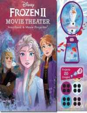 Disney Frozen II Movie Theater Storybook & Movie Projector 9780794444273