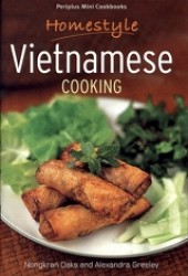 Link to an enlarged image of Periplus Mini Cookbooks: Homestyle Vietnamese Cooking