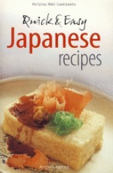 Link to an enlarged image of Periplus Mini Quick And Easy Japanese Recipes (DNR)