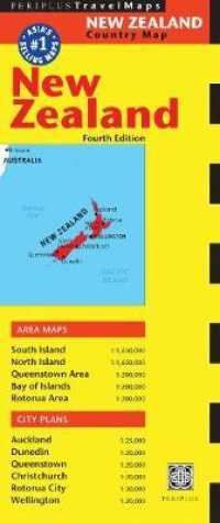 Link to an enlarged image of New Zealand Travel Map (Australia Regional Maps) (4th FOL Magnet)