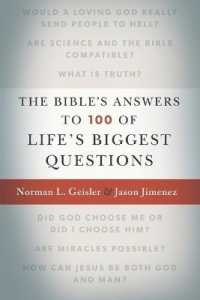 Link to an enlarged image of The Bible's Answers to 100 of Life's Biggest Questions