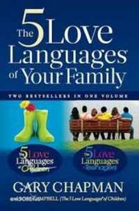 Link to an enlarged image of Five Love Languages of Family -- Paperback / softback