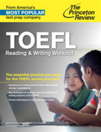 Link to an enlarged image of Toefl Reading and Writing Workout (Princeton Review Series) (CSM)