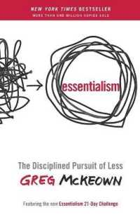 Link to an enlarged image of Essentialism : The Disciplined Pursuit of Less