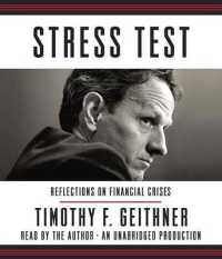 Link to an enlarged image of Stress Test (15-Volume Set) : Reflections on Financial Crises (Unabridged)