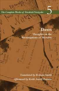 Link to an enlarged image of Dawn : Thoughts on the Presumptions of Morality (Complete Works of Friedrich Nietzsch)