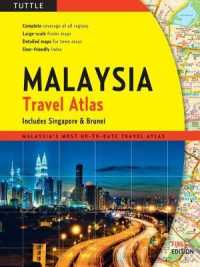 Link to an enlarged image of Tuttle Maylaysia Travel Atlas : Includes Singapore & Brunei