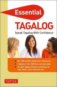 Link to an enlarged image of Essential Tagalog : Speak Tagalog with Confidence (Essential Phrase Book) (Reprint)