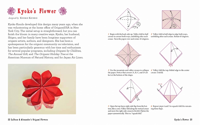 Link to an enlarged 3rd image of Origami Flowers Kit : Lifelike Paper Flowers to Brighten Up Your Life (BOX PCK PA)