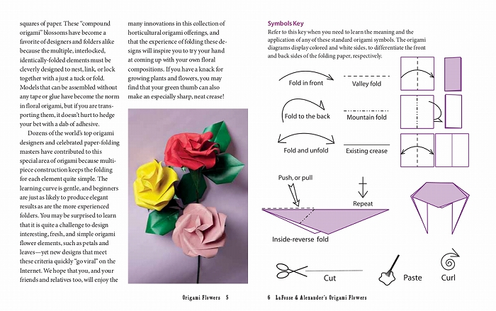 Modular Origami Magic Rose Cube Folding Instructions | 439x700