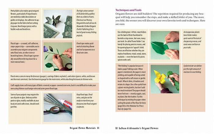 Link to an enlarged 8th image of Origami Flowers Kit : Lifelike Paper Flowers to Brighten Up Your Life (BOX PCK PA)