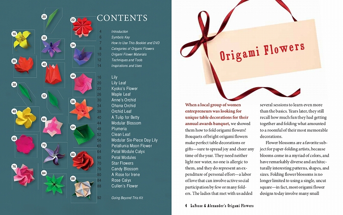 Link to an enlarged 11th image of Origami Flowers Kit : Lifelike Paper Flowers to Brighten Up Your Life (BOX PCK PA)