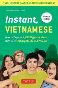 Link to an enlarged image of Instant Vietnamese : How to Express 1,000 Different Ideas with Just 100 Key Words and Phrases! (Revised)