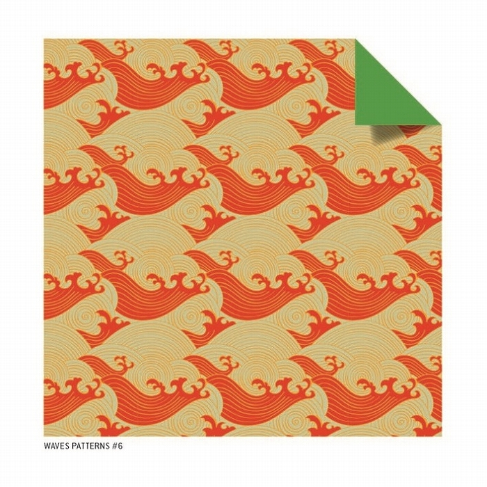 Link to an enlarged 4th image of Origami Paper Ukiyo-E Bird Prints, 48 Sheets (Tuttle Origami Paper) (TOY)
