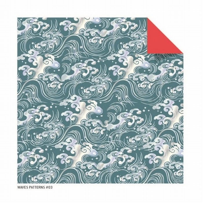 Link to an enlarged 5th image of Origami Paper Ukiyo-E Bird Prints, 48 Sheets (Tuttle Origami Paper) (TOY)