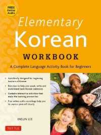 Link to an enlarged image of Elementary Korean Workbook (CSM Paperback + CO)