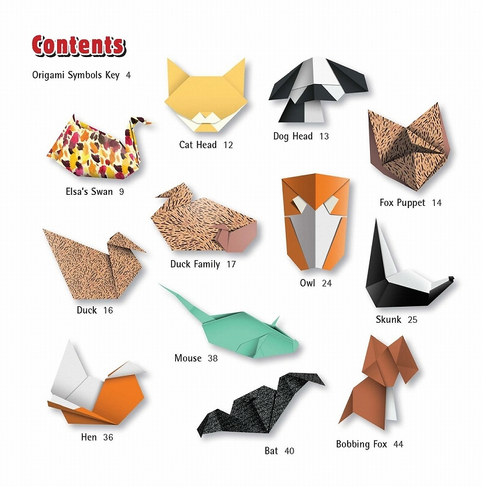27 Inspiration Photo of Origami Animals Instructions | Easy ... | 700x693