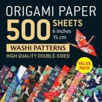 Link to an enlarged image of Origami Paper Washi Patterns 6''500 sheets