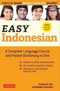 Link to an enlarged image of Easy Indonesian : A Complete Language Course and Pocket Dictionary in One (Easy Language)