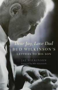 Link to an enlarged image of Dear Jay, Love Dad : Bud Wilkinson's Letters to His Son (Reprint)