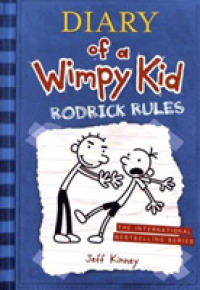Link to an enlarged image of Diary of a Wimpy Kid # 2: Rodrick Rules -- Paperback (English Language Edition)
