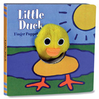 Link to an enlarged image of Little Duck (Finger Puppet Book) (BRDBK)