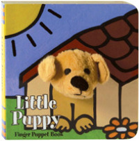 Link to an enlarged image of Little Puppy (Finger Puppet Book) (BRDBK)