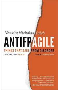 Link to an enlarged image of Antifragile : Things That Gain from Disorder (Reprint)