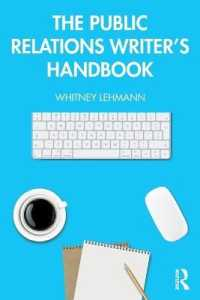 Link to an enlarged image of The Public Relations Writers Handbook