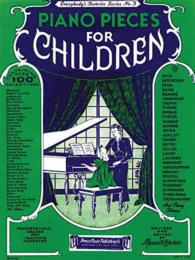 Link to an enlarged image of Piano Pieces for Children : Everybody's Favorite Series