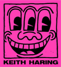 Link to an enlarged image of Keith Haring