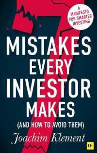 Link to an enlarged image of 7 Mistakes Every Investor Makes and How to Avoid Them : A Manifesto for Smarter Investing