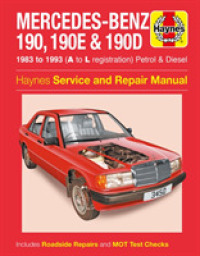 Link to an enlarged image of Mercedes-benz 190 Service and Repair Manual -- Paperback / softback