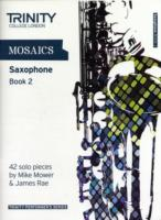 Link to an enlarged image of Mosaics - Saxophone Book 2 : Saxophone Teaching Material -- Book