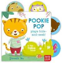 Link to an enlarged image of Tiny Tabs: Pookie Pop Plays Hide and Seek (Tiny Tabs) -- Board book