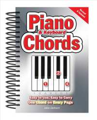 Link to an enlarged image of Piano & Keyboard Chords : Easy-to-Use, Easy-to-carry, One Chord on Every Page (Spiral Revised UP)