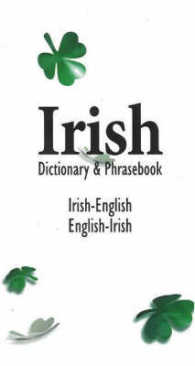 Link to an enlarged image of Irish/English English/Irish Dictionary and Phrasebook (Reprint)