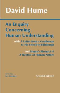 Link to an enlarged image of An Enquiry Concerning Human Understanding (2nd)