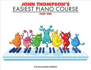 Link to an enlarged image of John Thompson's Easiest Piano Course : Part 1 - Book Only