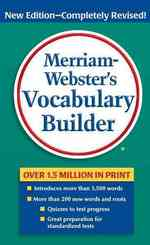 Link to an enlarged image of Merriam-Webster's Vocabulary Builder (2nd New Revised)