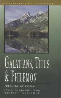 Link to an enlarged image of Galatians, Titus, & Philemon : Freedom in Christ (Fisherman Bible Studyguide)