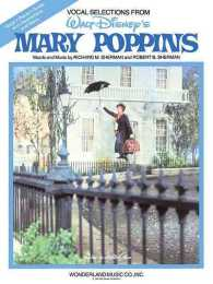 Link to an enlarged image of Mary Poppins (Vocal Selections)