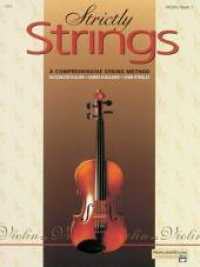Link to an enlarged image of Strictly Strings : A Comprehensive String Method Book 1 : Violin
