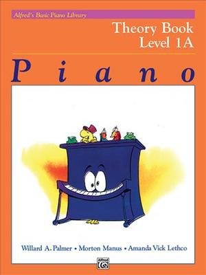 Link to an enlarged image of Alfred's Basic Piano Library : Theory Book Level 1A