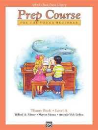 Link to an enlarged image of Alfred's Basic Piano Library : Prep Course Theory Book Level a
