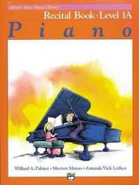 Link to an enlarged image of Alfred's Basic Piano Library : Recital Book Level 1A