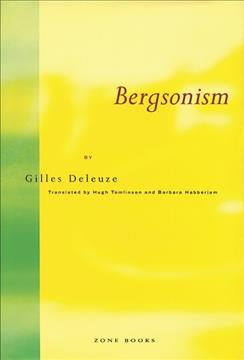 Link to an enlarged image of Bergsonism (Reissue)