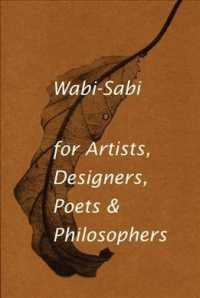 Link to an enlarged image of Wabi-Sabi, for Artists, Designers, Poets & Philosophers