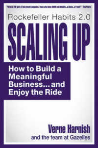 Link to an enlarged image of Scaling Up : How a Few Companies Make It...and Why the Rest Don't